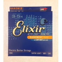 Струны для электрогитары Elixir 12002