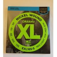 Струны для баса Daddario EXL165-5