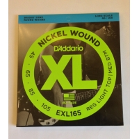 Струны для баса Daddario EXL165