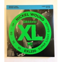 Струны для баса Daddario EXL220