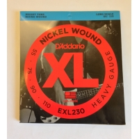 Струны для баса Daddario EXL230