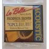 Струны для акустической гитары LaBella 7GPCL