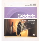 Струны для акустической гитары Daddario EJ13