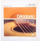 Струны для акустической гитары Daddario EJ15