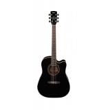 Электро-акустическая гитара Cort AD880CE-BK